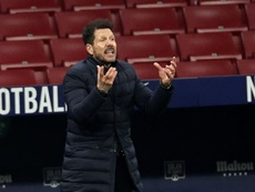 Simeone says he is happy. EFE