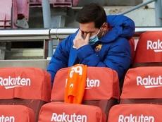 Barcelona tem pessimismo com Lionel Messi para a final da Supercopa. EFE/Alejandro García/Arquivo