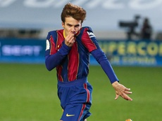 Riqui Puig said he has had a difficult year. EFE