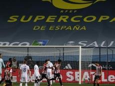 Rubiales pidió perdón por la jugada de Unai Núñez. EFE