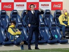 Emery destacó la actuación de Niño y Pino ante el Tenerife. EFE