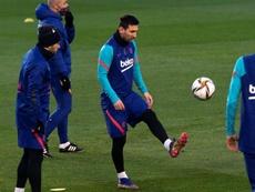 Messi está pronto para a final. EFE