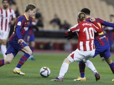 Athletic performed well against BArcelona. EFE