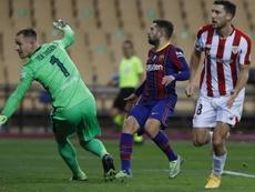 L'Athletic Bilbao vince la Supercoppa. EFE
