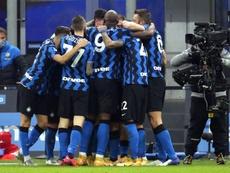 El Inter anuló a la Juve y alcanzó al Milan en la cabeza. EFE/EPA