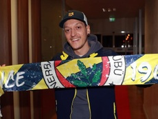 Özil falou após sua chegada na Turquia. EFE/EPA