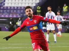 Josan se marchó decepcionado con el empate. EFE/R. García