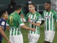 El Betis superó al Celta con doblete de Canales. EFE/Jose Manuel Vidal