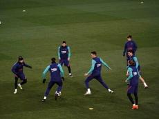 La compo probable du Barça contre Elche. afp