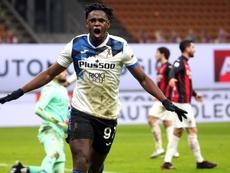 L'Atalanta batte il Milan. AFP