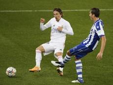 Butragueño, optimista con la renovación de Modric. EFE/David Aguilar