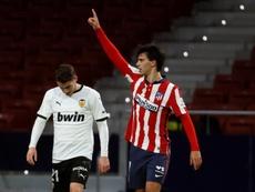 El Atlético vuela hacia LaLiga. EFE/Ballesteros