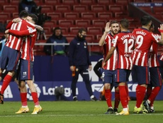 Atletico Madrid are on course for 100 points in La Liga. EFE