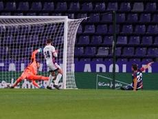 El Levante goleó al Valladolid en el José Zorrilla. EFE