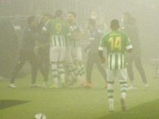 El Betis pasa a cuartos de la Copa del Rey. EFE