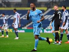 Manchester City faz 5 a 0 e volta a liderar a Premier League.EFE/EPA/Laurence Griffiths