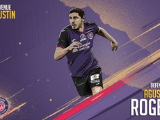 Agustín Rogel, nuevo jugador del Toulouse. Twitter/ToulouseFC