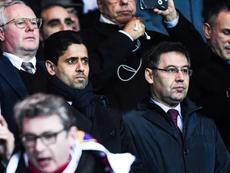 Le Barça voyait le PSG venir. AFP