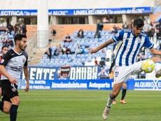 El debut de Claudio Barragán también tuvo derrota. Twitter/recreoficial