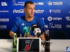 Ale Díez piensa en su recuperación y en el Zaragoza. Extremadura TV