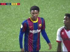 Segunda derrota seguida del filial azulgrana. Captura/BarçaTV