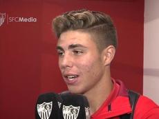 El canterano hispalense no quiere salir en enero. SevillaFC