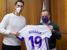 Álex Alegría se marcha al Zaragoza. RealZaragoza