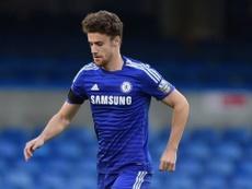 Alex Davey, en un partido con el Chelsea Sub 21. ChelseaFC