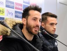 Mala temporada para Álex Carbonell. CórdobaCF