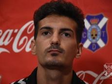 Álex Muñoz cree que el fútbol está siendo injusto con el Tenerife. CDTOficial