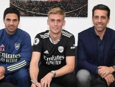 Runarsson, nuevo portero para Arteta. Twitter/Arsenal