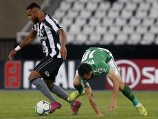 Chapecoense, con problemas de pago. Botafogo