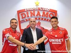 El Dinamo de Bucarest aumenta su 'españolización'. Dinamobucurestiofficial