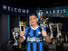 El Inter confía en Alexis. Twitter/Inter