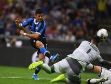 Alexis Sánchez reaparece três meses depois. Twitter/Inter