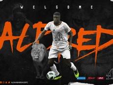 Alfred N'Diaye rejoint Al-Shabab. AlShababSaudiFC