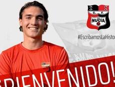Pedraza reforzará a La Nucía. Twitter/cfnucia