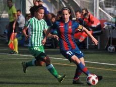 No hubo goles en el Levante-Betis. RealBetisFéminas
