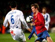 Hleb fue un actor secundario en el Barça de Pep. FCBarcelona