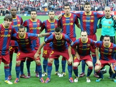 Barcelona thrashed Manchester United at Wembley in 2011. EFE