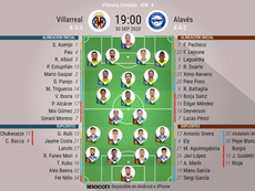 Onces confirmados del Villarreal-Alavés. BeSoccer