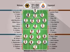 Alineaciones confirmadas del Wolves-Espanyol. BeSoccer