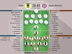 Sigue en directo del Düren-Bayern. BeSoccer