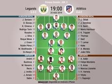 Leganés y Atlético de Madrid, primer derbi madrileño. BeSoccer