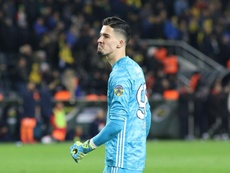 El Ajax quiere a Bayindir para sustituir a Onana. Twitter/Fenerbahçe