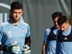 Álvaro Fernández estará mucho tiempo sin jugar. RCCelta