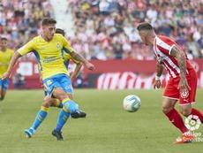 Las Palmas y Girona disputaron un igualado encuentro. LaLiga