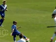 Álvaro Montoro, uma das novas jóias do Vélez Sarsfield. Captura/ESPN