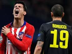 Morata aurait subi des examens qui auraient confirmé la blessure. AFP