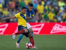 Jefferson Montero podría llegar a Liga de Quito. AFP